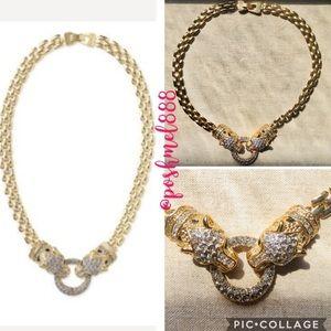 :: Stella & Dot🐆⚜️RARE Retired ISIS Jaguar Collar